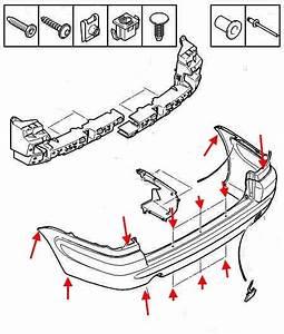 How To Remove Front And Rear Bumper Citroen Xsara 2  2000
