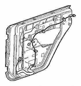 2015 Jeep Wrangler Wiring  Rear Door  Right  Manual