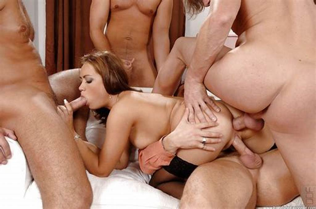 #Gangbang #All #Holes #Filled #Porn