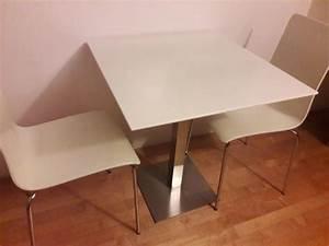 Esstisch Mit Stühlen Gebraucht : kleiner esstisch mit 2 st hlen in weiss kaufen auf ricardo ~ A.2002-acura-tl-radio.info Haus und Dekorationen