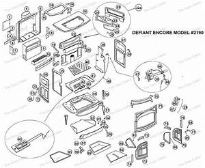 Defiant Encore  2190  The Cozy Cabin Stove  U0026 Fireplace