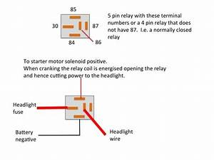 Wiring Diagram For Spotlights With A Relay Save Beautiful