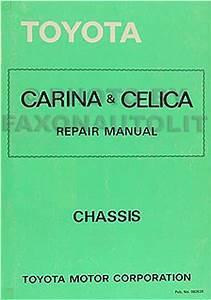 1978 Toyota Pickup Service Specs Manual Original No  98257