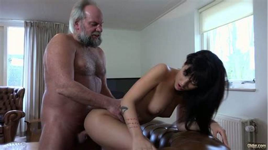 #Sassy #Brunette #Catches #Old #Pervert #Watching #Porn #And #Fucks #Him