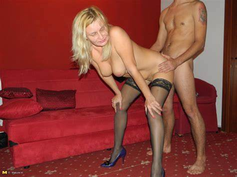 Perky Granny And Her Boytoy Hooker Banged Man Toys