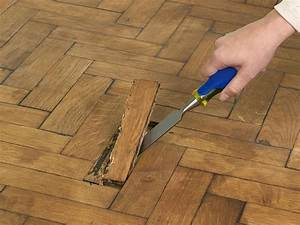 How to repair parquet flooring how tos diy for Refurbishing parquet flooring