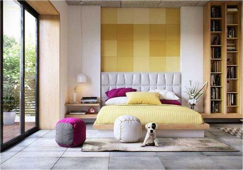couleur de chambre à coucher adulte décoration chambre coucher adulte idées textures couleurs