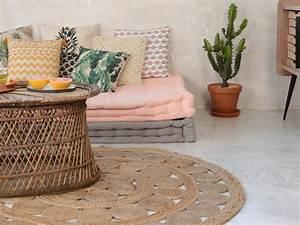 Tapis Boheme Chic : pittoresque tapis boheme design accessoires de salle de bain a tapis boheme design petit tapis ~ Teatrodelosmanantiales.com Idées de Décoration