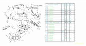 1990 Subaru Justy Exhaust Manifold Gasket  Carb