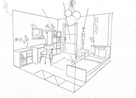 dessin de chambre comment dessiner une chambre des idées novatrices sur la