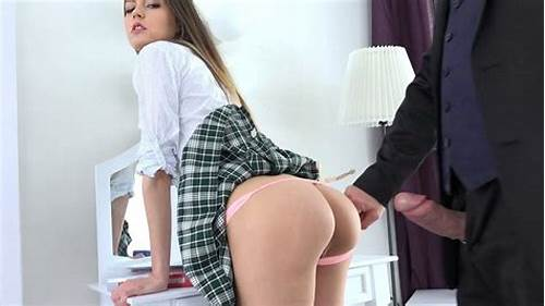 Girl Solo Nylon Hd Butt Small Licks