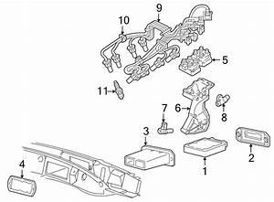 Mazda B2300 Engine Control Module Seal  2 3  U0026 2 5 Liter  3