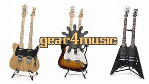 Gear4music Double Neck Guitars