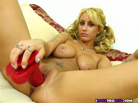Playing Temptress Mouth Dildos