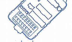 Acura Rsx 2009 Main Fuse Box  Block Circuit Breaker Diagram