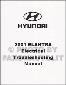 2001 Hyundai Elantra Electrical Troubleshooting Manual