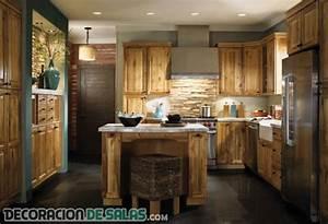 5 cocinas rústicas para una decoración muy cálida