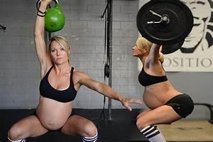 Pregnant Woman Body Building - Lea-anne Ellison