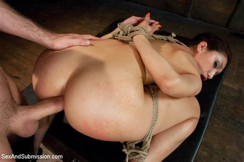 #Cute #Cock #Sucker #Bound #Roped, #Pegged #And #F