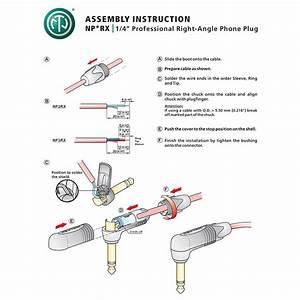 Neutrik Np2rx 4 U0026quot  Jack Plug  Angle