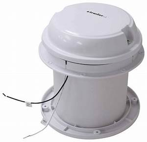 Maxxfan Dome Roof Vent W   12v Fan - 6 U0026quot  Diameter