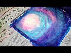 Product Advertisement Painting Oil Pastel Night Sky In Woods Youtube