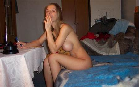Nude Teen Smoking