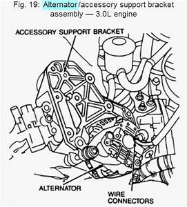 Ford Probe Questions - Remove Alternator