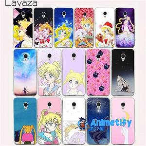114aa Sailor Moon Hard Case For Meizu M6 Animated M3 M5