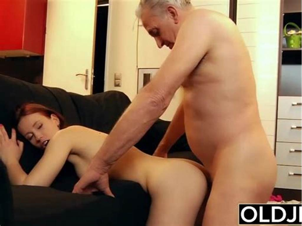 #Young #Slut #Hard #Fucked #By #Old #Horny #Man #He #Fucks #Her #Pussy
