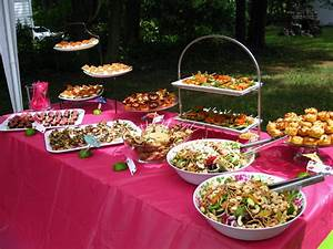 how to prepare beautiful wedding shower ideas With wedding shower foods