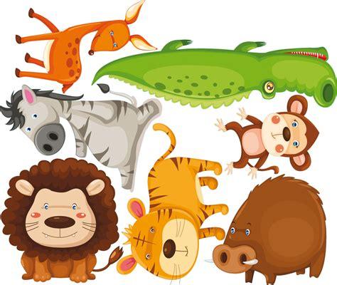 Vinilos folies : Kit Vinilo decorativo infantil 7 animales