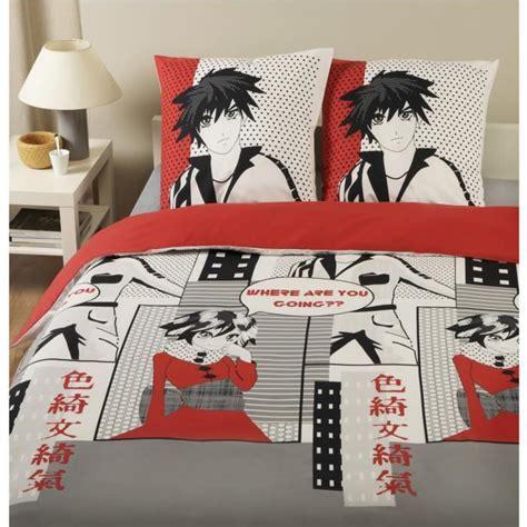 Vormor housse de couette 200x200cm trois grues japonaises à motifs multiples traditionnelles parure de lit 2 personnesimprimé en microfibre allmill parure de lit avec housse de couette en microfibre,kimono geisha femme japonaise japon asiatique magnifique billboard dessin,sets de. Parure housse de couette en 100% coton - Manga ... - Achat / Vente parure de couette - Les ...