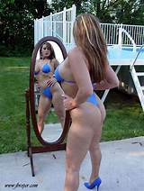Lesbian in bikinis bondage