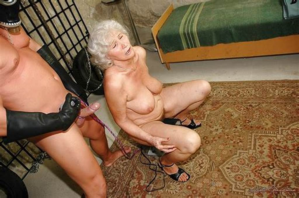 #Chubby #Granny #With #Big #Flabby #Tits #Is #Into #Hardcore #Bdsm