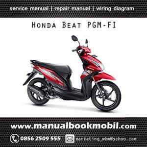 Jual Service Manual Honda Beat Pgm-fi