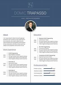 Creating A Good Resume Free Hvac Engineer Resume Cv Template In Photoshop Psd