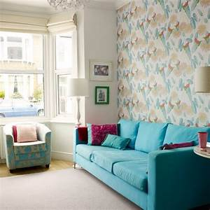 Colourful living room ideas