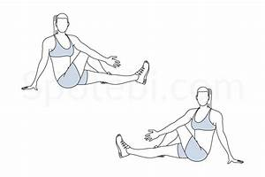 Outer Thigh Stretch