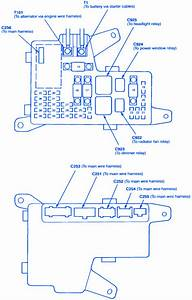 Honda Accord Ex4 1992 Engine Fuse Box  Block Circuit
