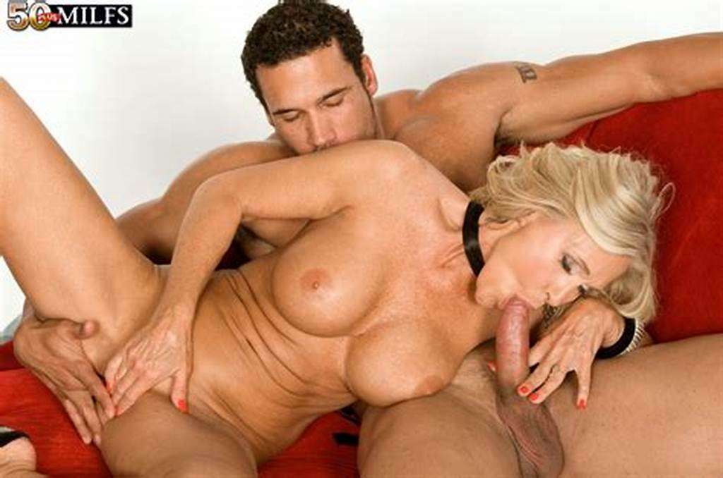 #Hot #Older #Blonde #Katia #Seduces #A #Younger #Guy #With #Her #Big