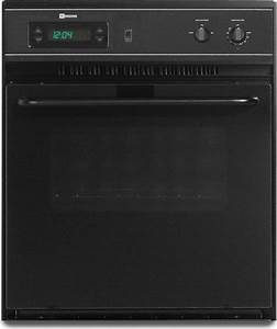 Maytag Cwe4100acb 24 U0026quot  Single Electric Wall Oven With 2 8