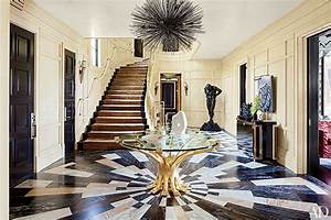 Allen Interior Design How To Create A Patterned Stone Floor Architectural Digest