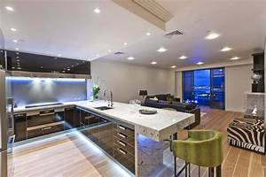 Luxury modern kitchen interior design ideas for Modern house kitchen interior design
