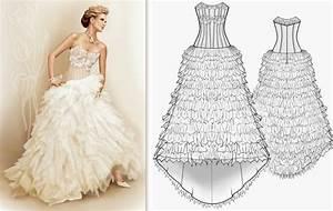 Patron couture robe mariee bustier robes de mode site for Patron de robe de mariée