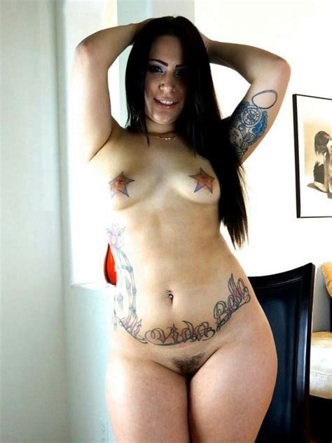 tattoos nude curvy
