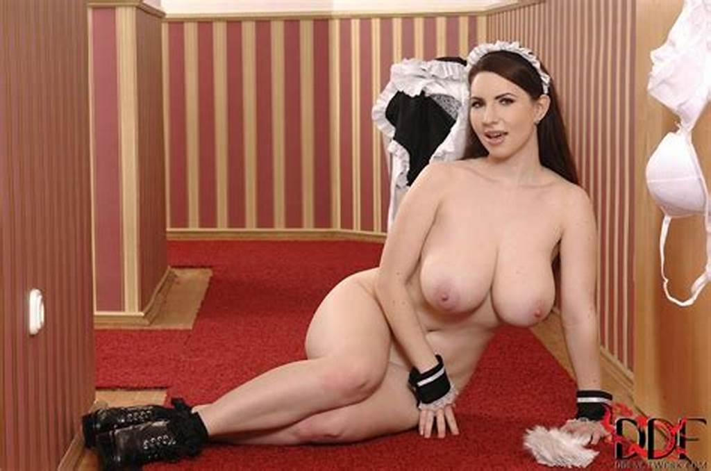 #Cute #Busty #Maid #Karina #Hart #Stripping #And #Showing #Off #Her