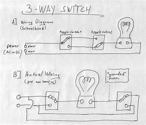 3 Way Switch Ladder Diagram