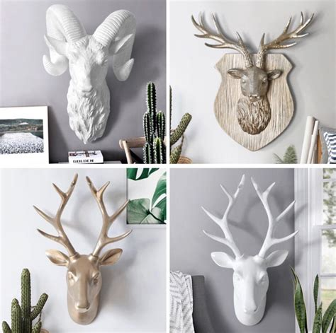 Get it as soon as thu, apr 8. Check out these new Deer Head Wall Hangings we just got in stock! This is perfect if you're ...