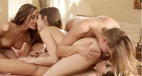 Rigid Guests Sultry Gangbang In Foursome House